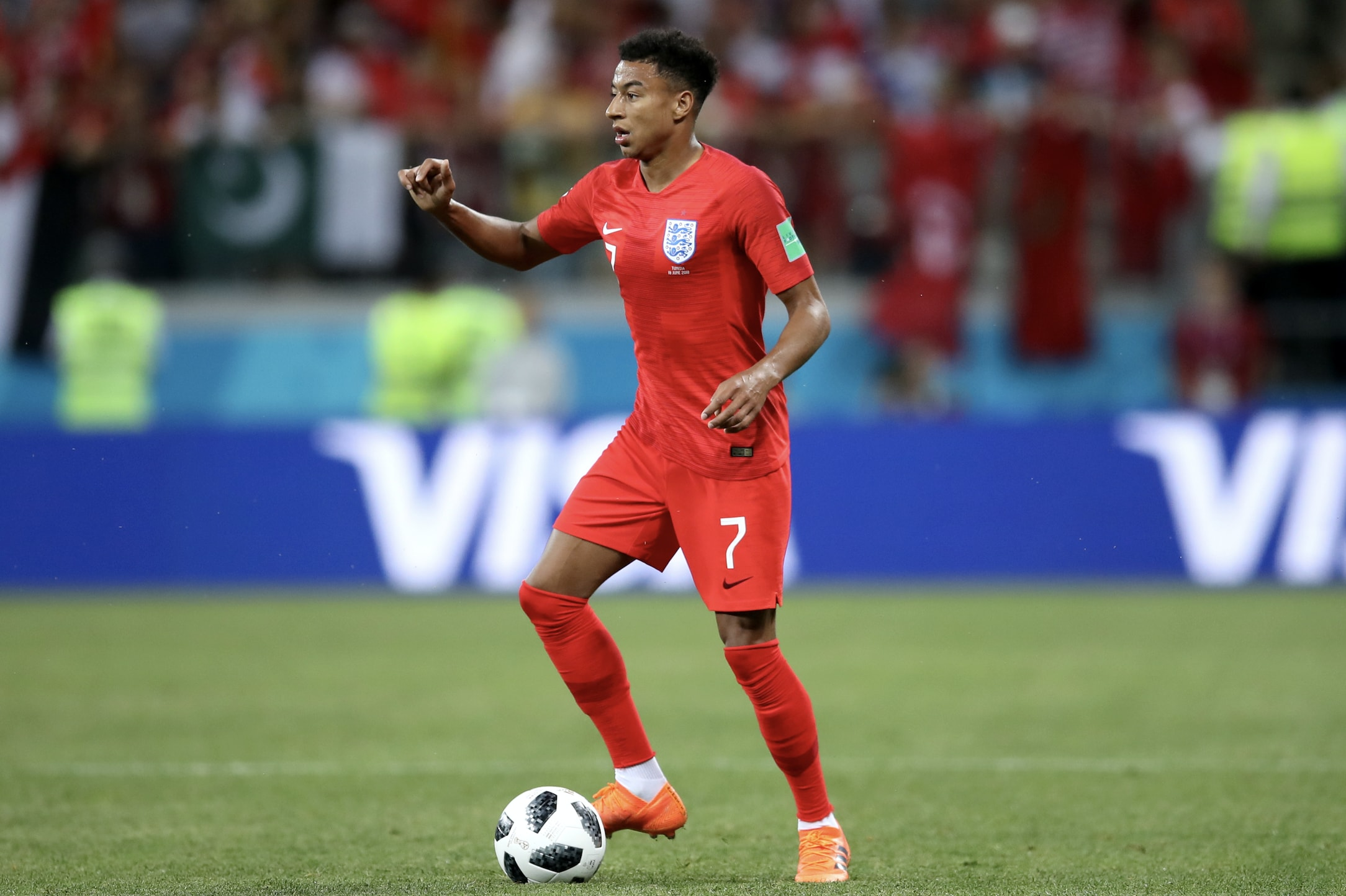 Lingard, Young & Rashford Watch: Red Trio Help England Win