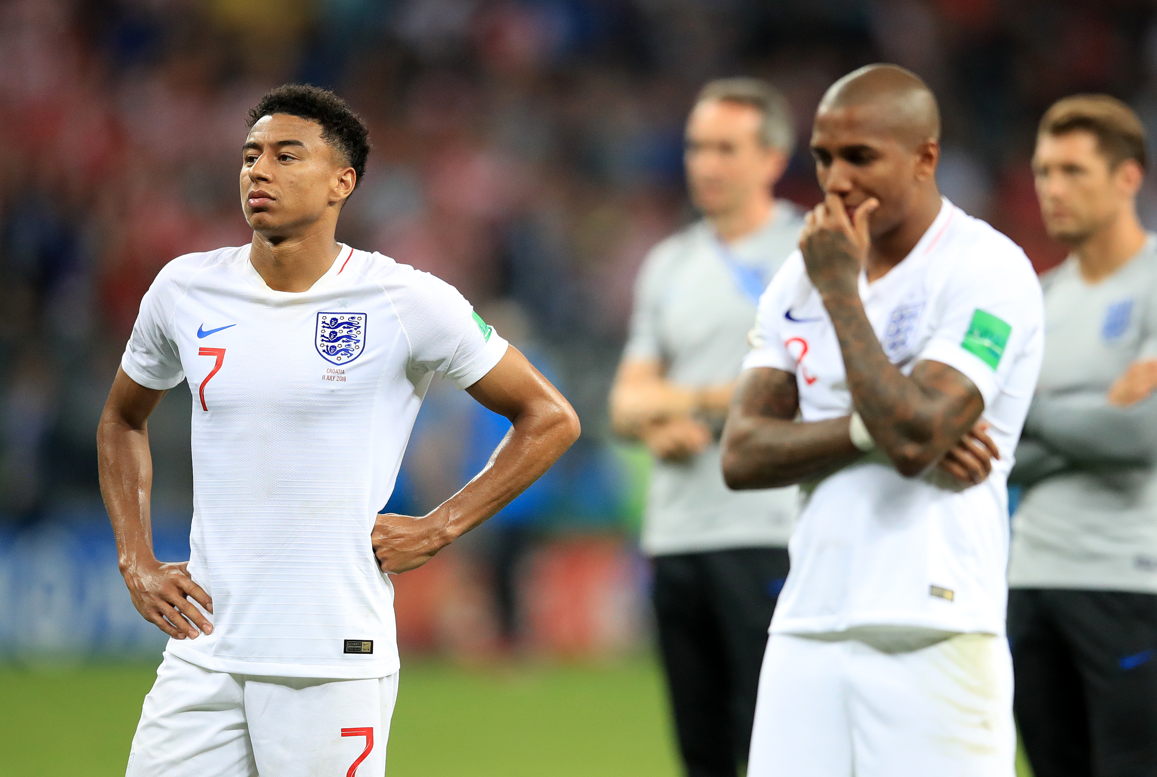 How United's England players performed against Croatia
