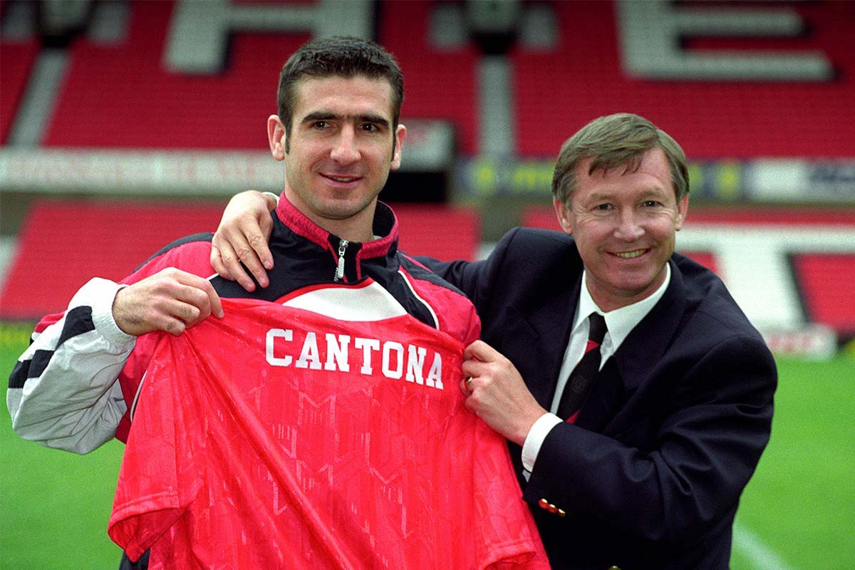 Eric Cantona's Top 5 Man Utd Moments