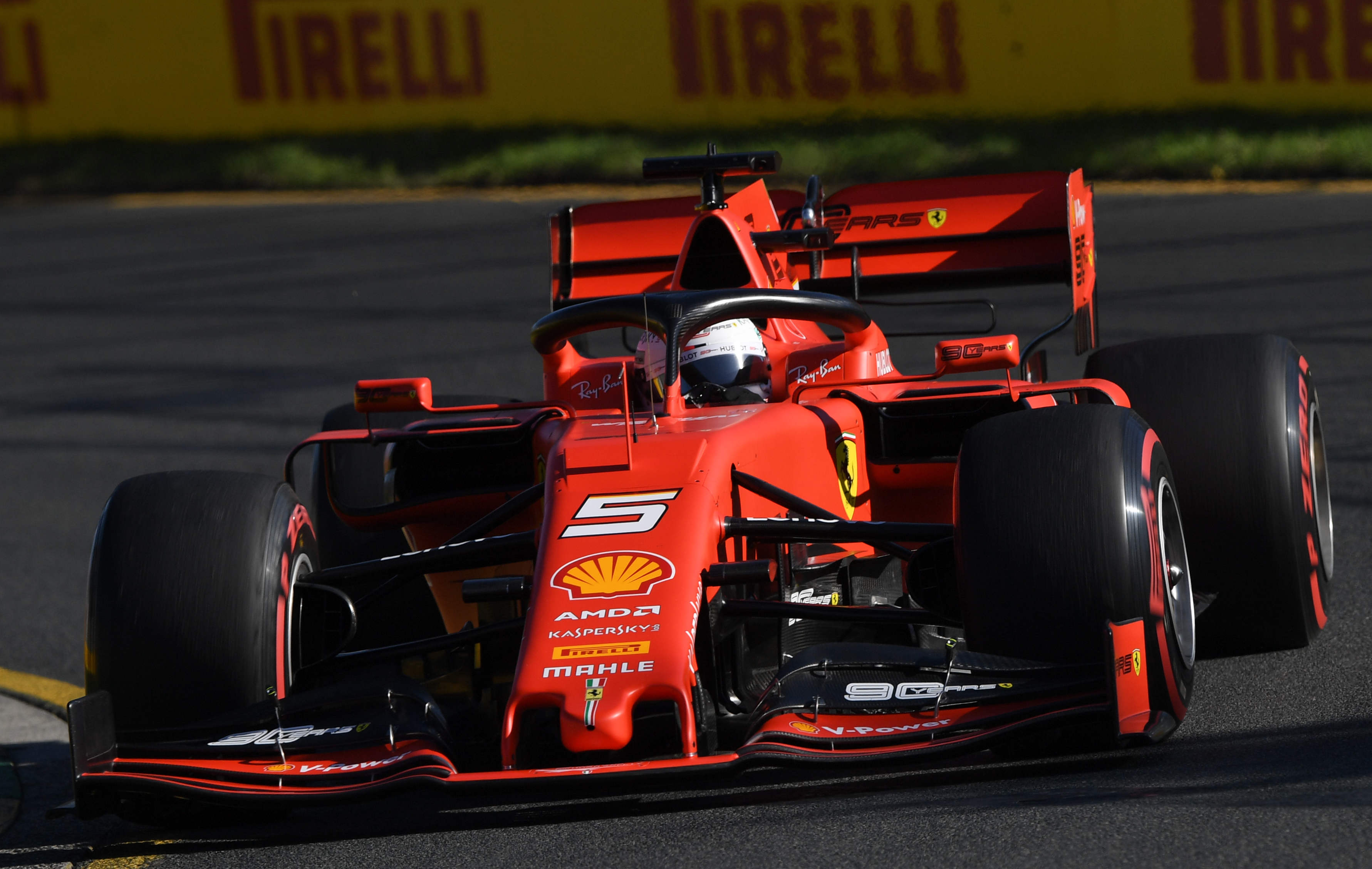 The Australian Grand Prix: Ferrari's Red Army on the march down under