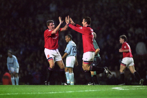 Demolition Derby: Manchester United put five past Manchester City in 1994