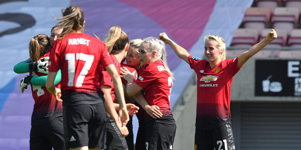 How Manchester United women won the Championship